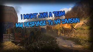 I Might Join A Team Be Updates On My Channel Soon!! #N9 Read Desc.