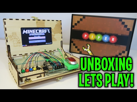 Unboxing & Let's Play : PIPER - MINECRAFT Computer Kit STEM (FULL ...