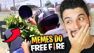 ACHOU UM ZÉ MOITA?!? REAGINDO AOS MELHORES MEMES DE FREE FIRE!! #2