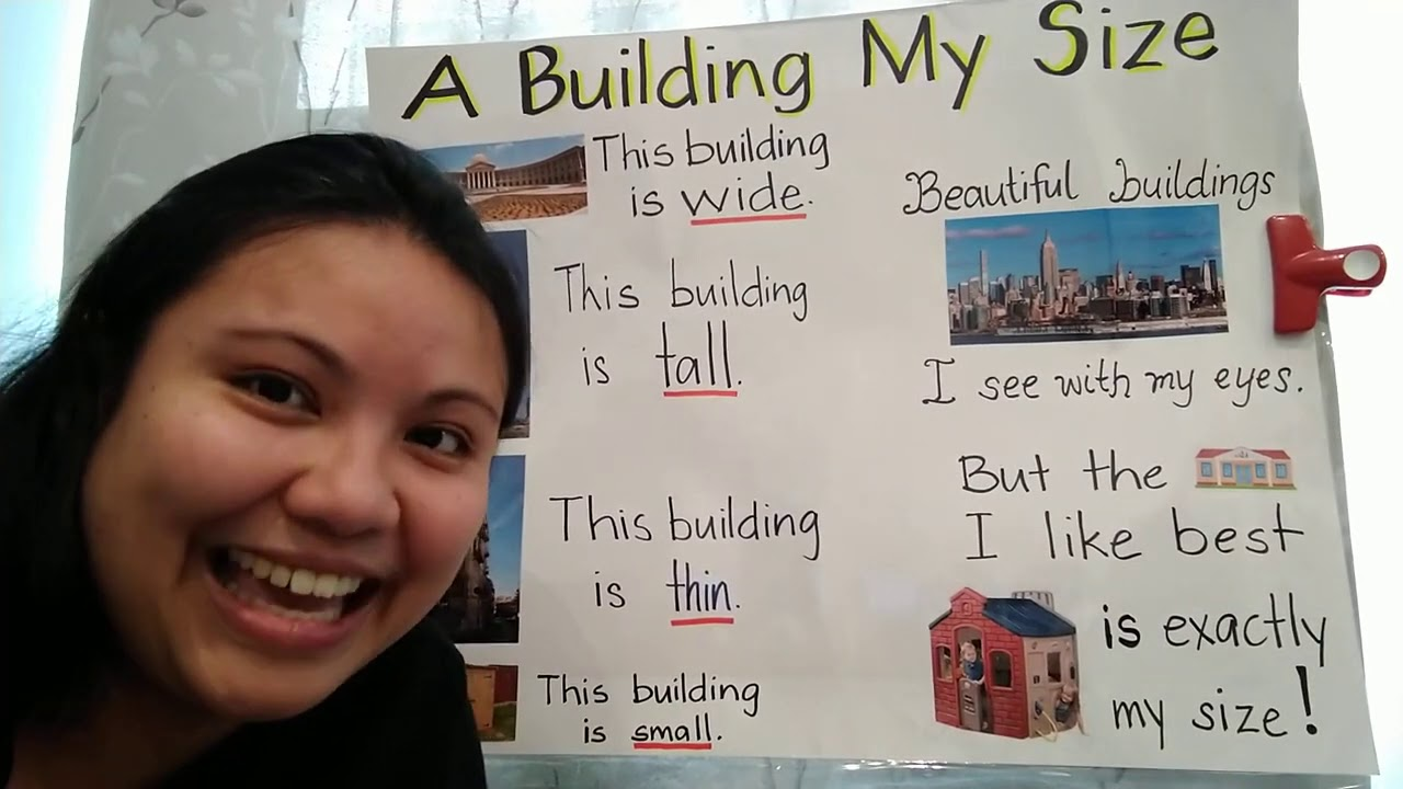Poem  A Building My Size