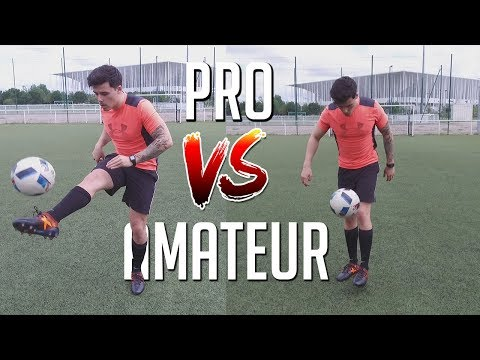 JONGLES AMATEUR VS PROFESSIONNEL !!