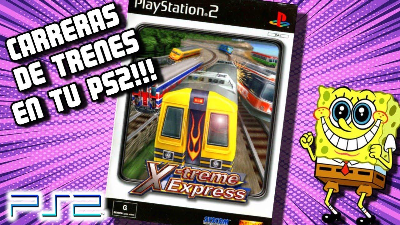 RAREZAS DE PLAY 2 - CARRERAS DE TRENES!!! - X-treme Express (PS2 - PC PCSX2) (Gameplay - analisis)