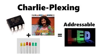 A quick look at Charlieplexing