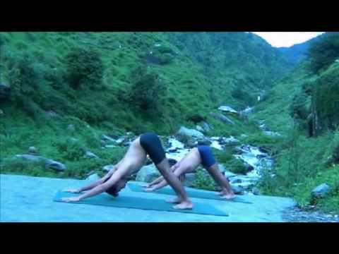 Ashtanga Yoga in the Himalayas - Sun Salutations