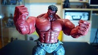 История персонажа + обзор Красного Халка Marvel Select Red Hulk от Gikman.