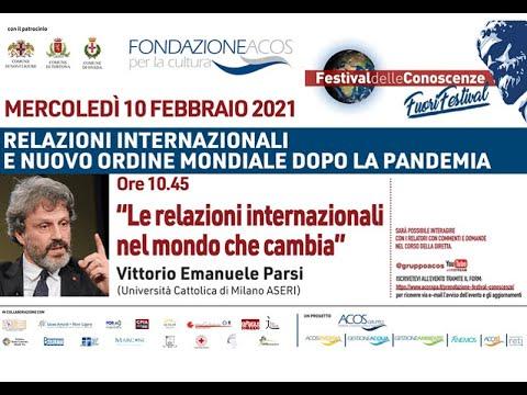 """Festival delle Conoscenze - Fuori Festival: """"Le relazioni internazionali nel Mondo che cambia"""""""