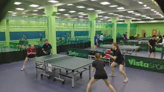 Сандалова-Молодых vs Бородулин-Рарата | RTTF cup 300 (зима 2021)