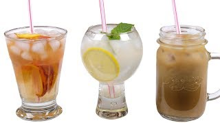 видео Восемь рецептов летних лимонадов