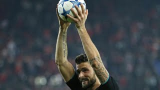Olivier Giroud vs Olympiacos - English Commentary 9/12/2015