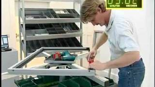 Монтаж и установка фурнитуры Sobinco на алюминиевые окна(, 2012-02-01T18:56:35.000Z)