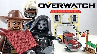 LEGO Overwatch Dorado Showdown set 75972 419 Pieces McCree Reaper Minifigure