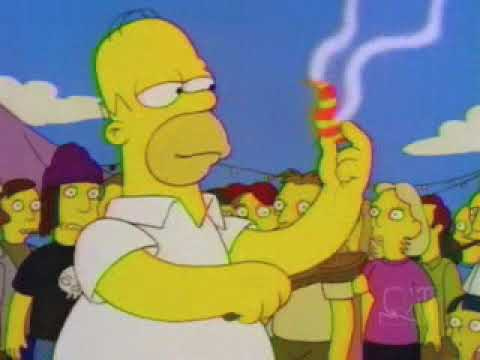 Homer goes to the Chili Cook Off