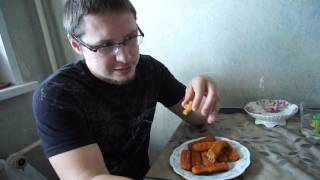 Еда Человека:  рыбные палочки Vichi