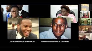 December Meeting: John Fullinwider Presentation On Police Brutality & Public Forum
