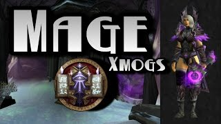 World of Warcraft - Mage Transmogs - Scorched Purple Xmog Set