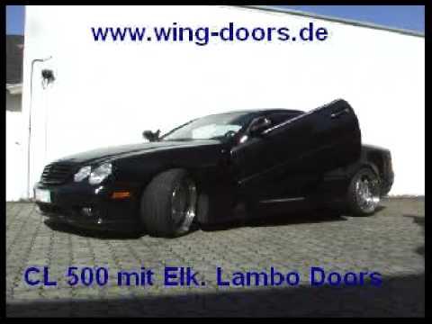 Lambo Doors Electric Automatic Wing Door Electrique Automatique You