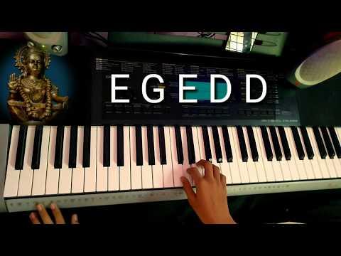 Harivarasanam On Keyboard With Notes. Anantha Krishnan R. Lord Ayyappa Song