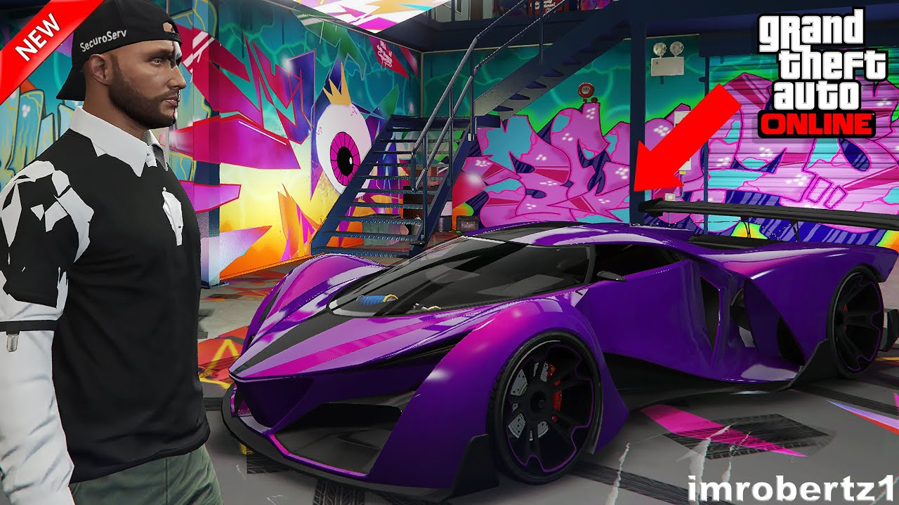 Gta 5 Online Best Plurple Grotti X80 Proto Crew Color