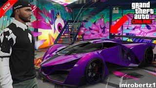 GTA 5 Online Best PLURPLE Grotti X80 Proto Crew Color Paint Job GTA Glitches