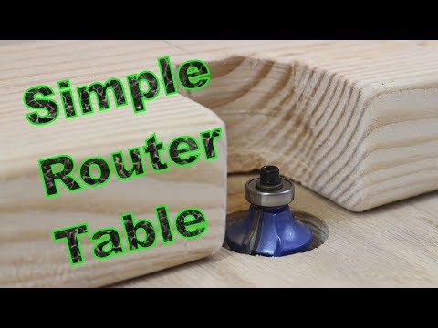DIY Simple Router Table