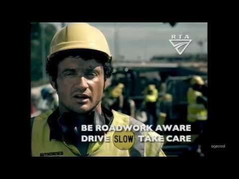 RTA NSW Roadwork Safety TVC 2006