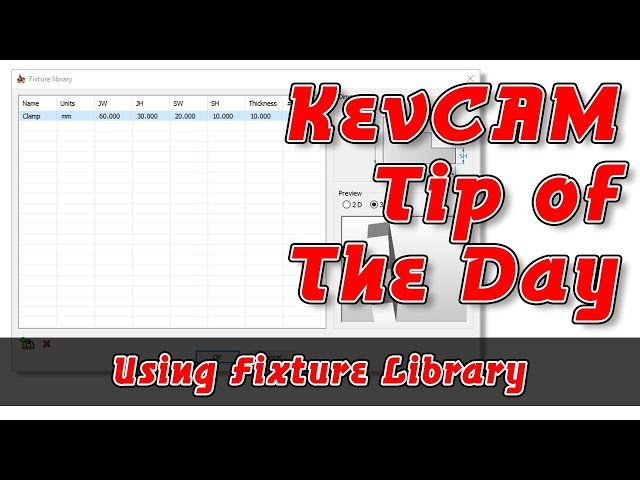 Tip of the Day - Fixture Library for Turning