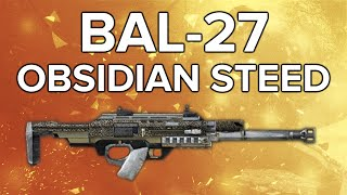 Advanced Warfare In Depth: BAL-27 Obsidian Steed Elite Variant Review (Wow!)