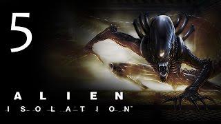 Alien: Isolation - Прохождение игры на русском [#5] hard
