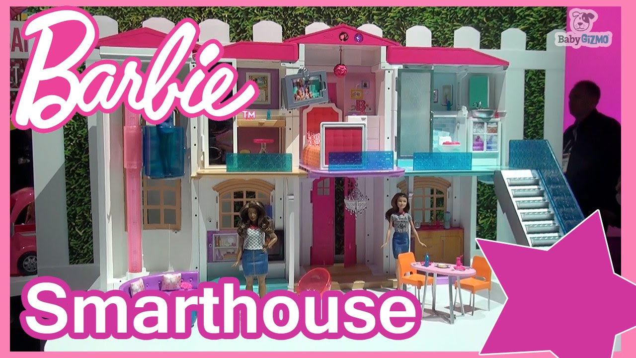 New barbie hello dreamhouse 2016 smart house youtube - Maison de reve barbie ...