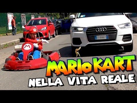 SUPER MARIO KART Nella VITA REALE - Prank