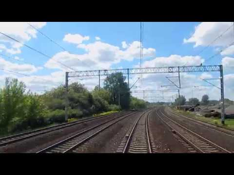 [3300 film!] REARVIEW TLK GOMBROWICZ na trasie Warszawa Centralna - Rzeszów Gł. 25.05.2017