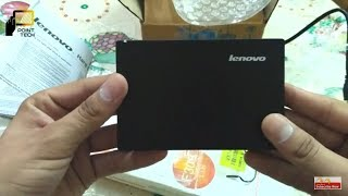 Lenovo 1 Tb External Hardisk Unboxing Review [ Hindi ] Buy Or Not full Review