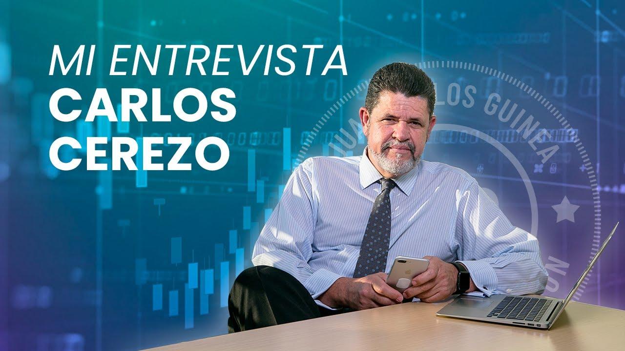 Mi entrevista con Carlos Cerezo, nos habla de forex, trading y más.