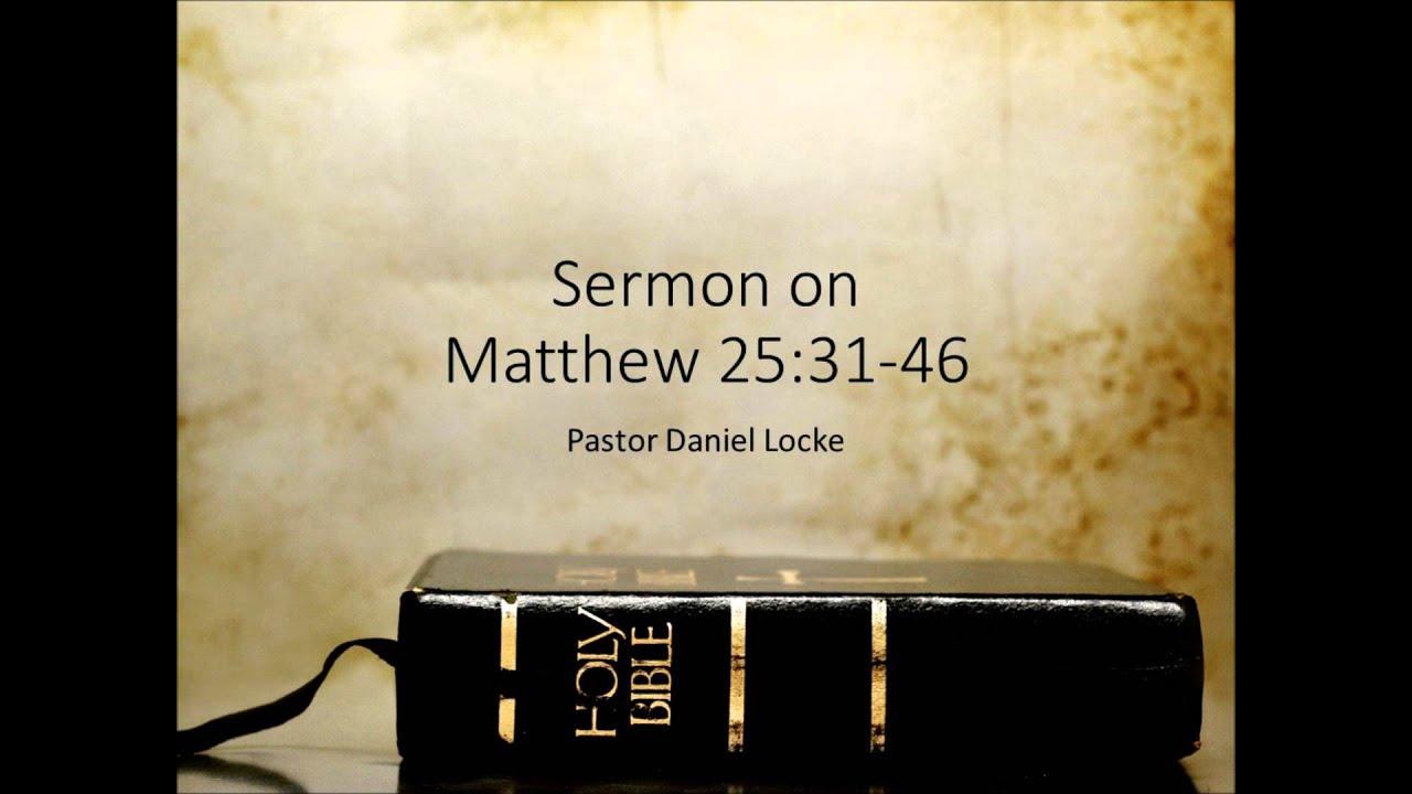 sermons from matthew Matthew 26 and 27: tenebrae vespers: rev eckert: 2018-03-30f: good friday: mark 15:39 the son of god rev wollenburg: 2018-03-29r: 4643 sermons found.