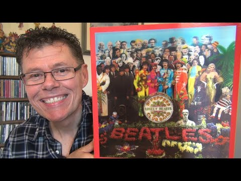 The Beatles Sgt. Pepper's Lonely Hearts Club Band Deluxe Box Set Unboxing