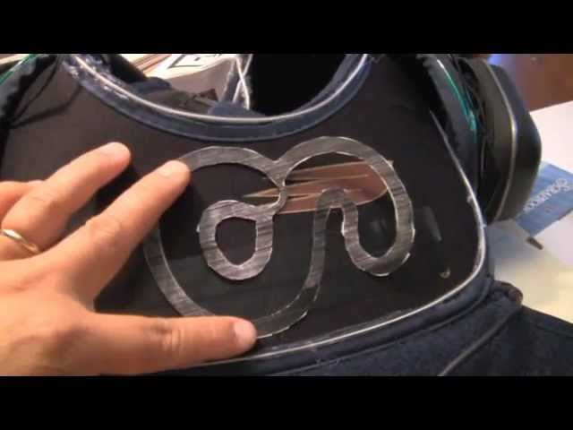 El Wire How to Make Tron Superhero Suit Costume With Pocket Blaster ...