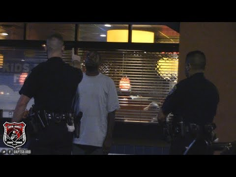Copwatch | Traffic Collision |  Pees in Front of Cop | DUI Field Sobriety Test Arrest