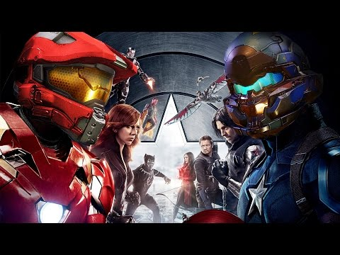 Halo | Captain America: Civil War * Ultimate Fan Trailer Mashup * HD (720p)