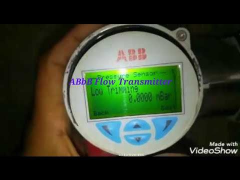 Abb Flow Transmitter Parameters