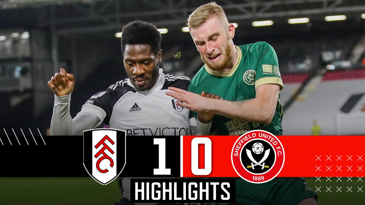 Fulham 1-0 Sheffield United | Premier League highlights | Lookman goal & Bogle denied penalty