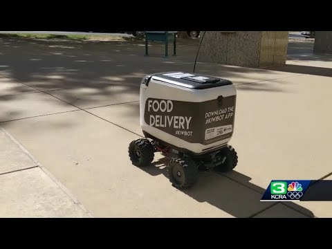 Food delivery robot to roll out in Sacramento