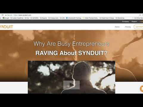 Synduit Benefits by Helen Thomas Robson