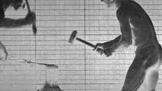 """Eadweard MUYBRIDGE Photos (1887) / Contralto Ortrun WENKEL:  """"O Mensch! Gib acht!"""" (1978)"""