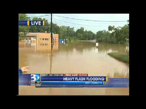 WBTV news, weather, and Sports Charlotte NC Flash Flooding August 5 2011