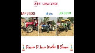 Swaraj 855  Massey Ferguson 9500 New Holland 3630 Vs John Deere 5310
