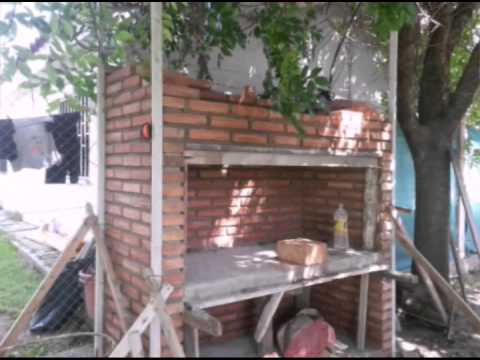 Asador en ladrillo visto youtube - Ladrillo visto ...