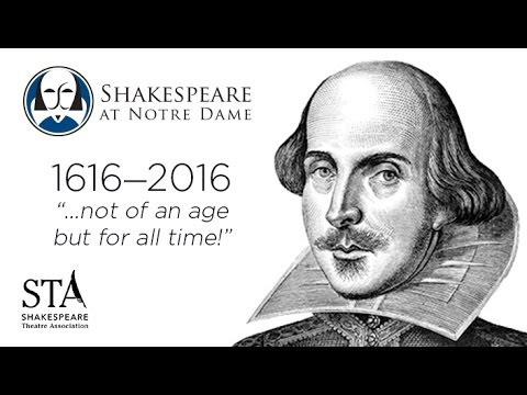 Shakespeare Theatre Association | 2016 Welcome Video