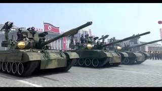 Мощь Корейской армии Военный парад в КНДР, видео 15 04 2017