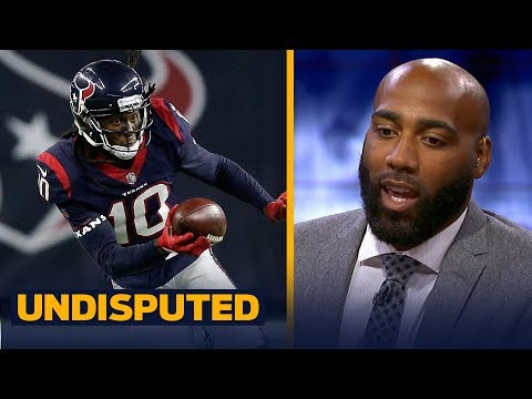 DeAngelo Hall joins Skip and Shannon to respond to DeAndre Hopkins | NFL | UNDISPUTED