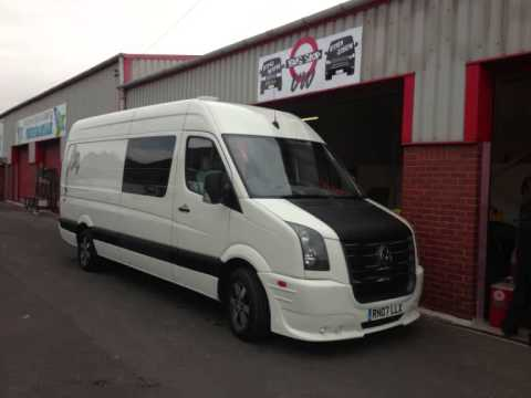 vw crafter conversion by bus stop vw youtube. Black Bedroom Furniture Sets. Home Design Ideas